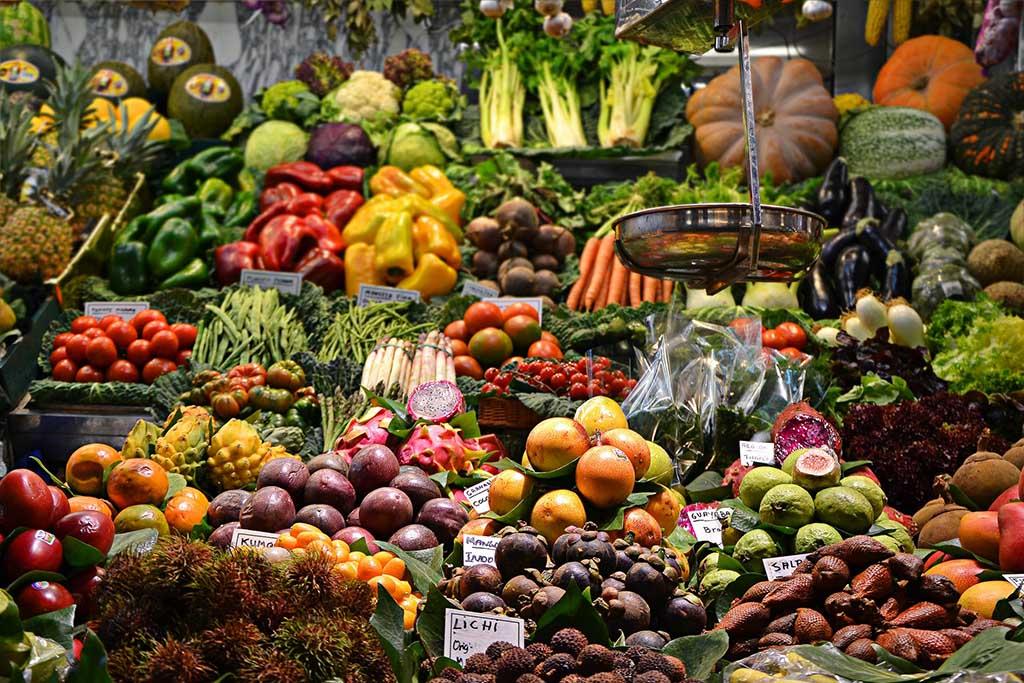 Рынок La Boqueria — Барселона