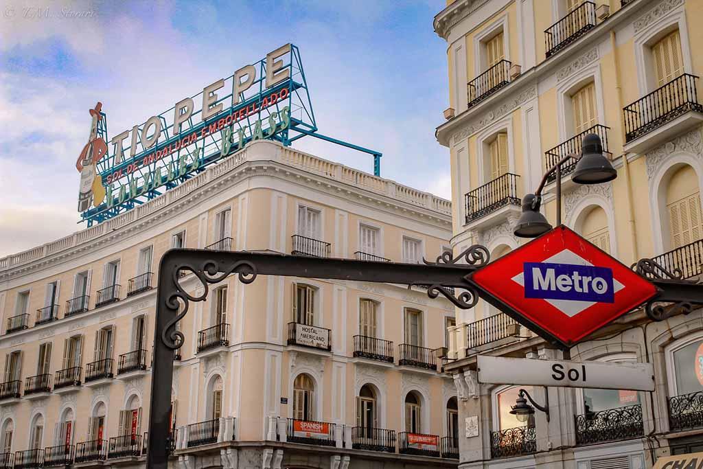Где находится площадь Пуэрта дель Соль — Мадрид