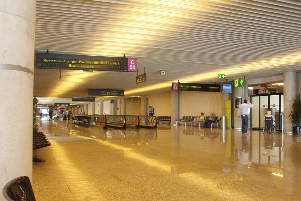 Аэропорт Пальма, остров Майорка, Испания