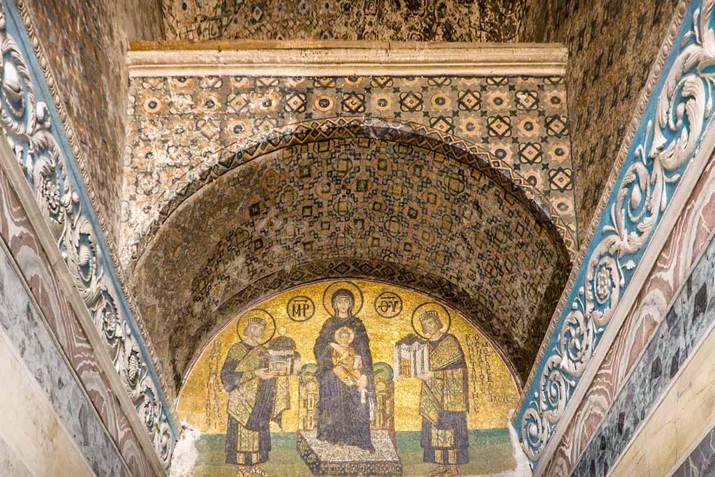 Музей Айя София в Стамбуле