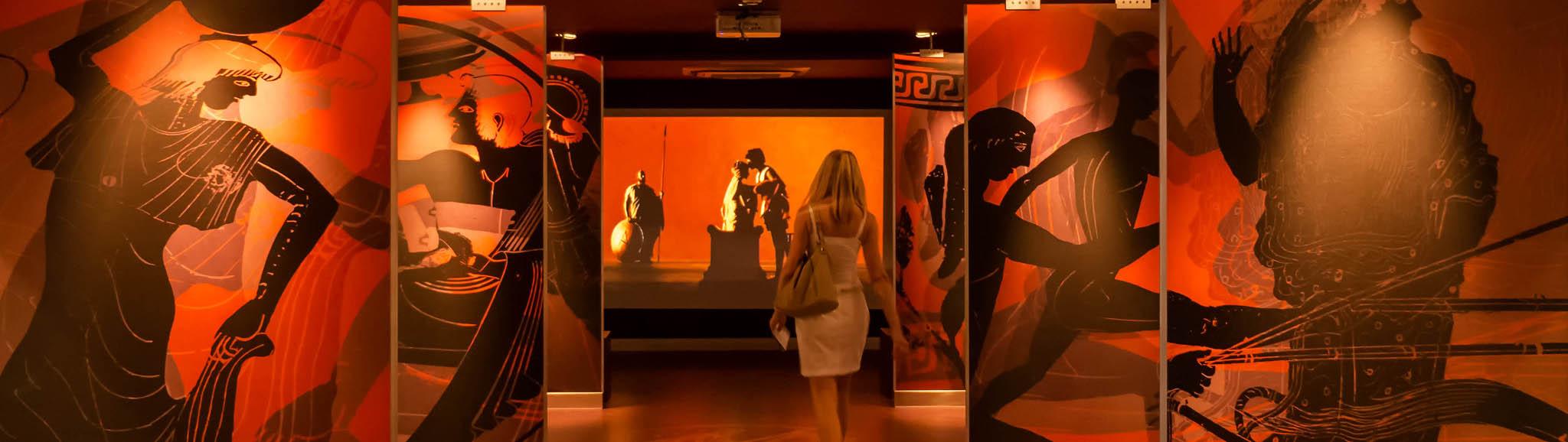 Музей киклаского искусства в Афинах