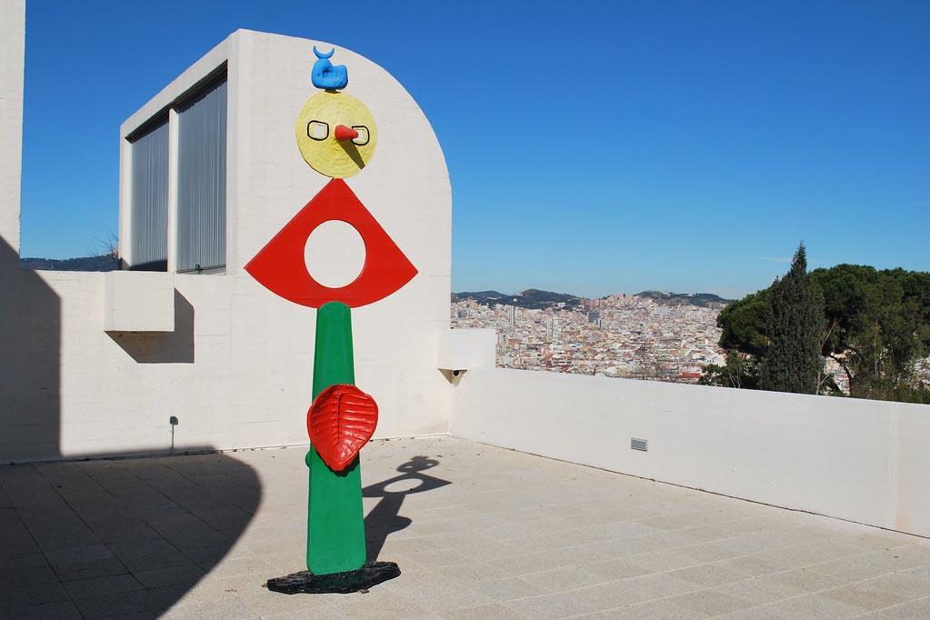 Фонд Миро, Барселона — смотровая