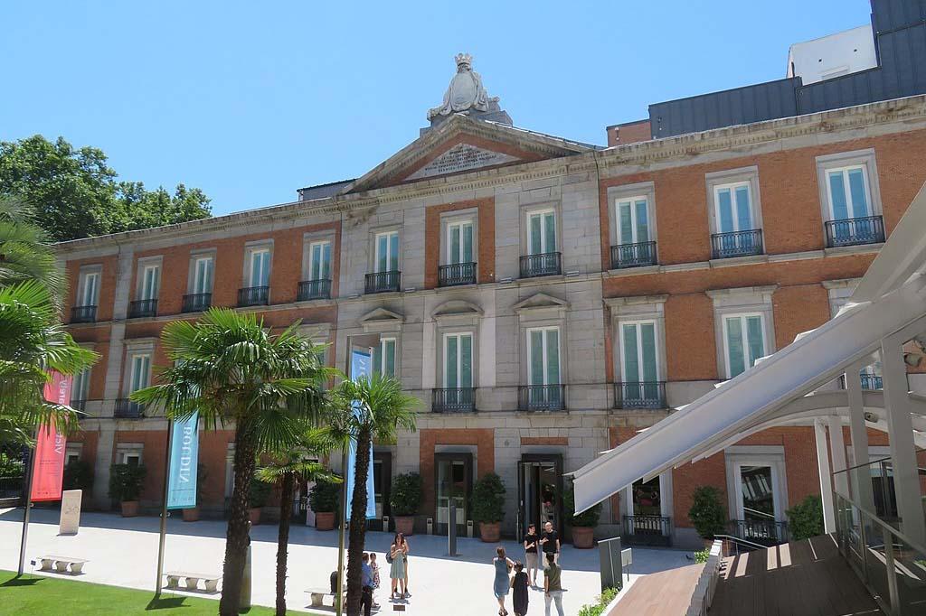 Достопримечательность Мадрида — Музей Тиссен