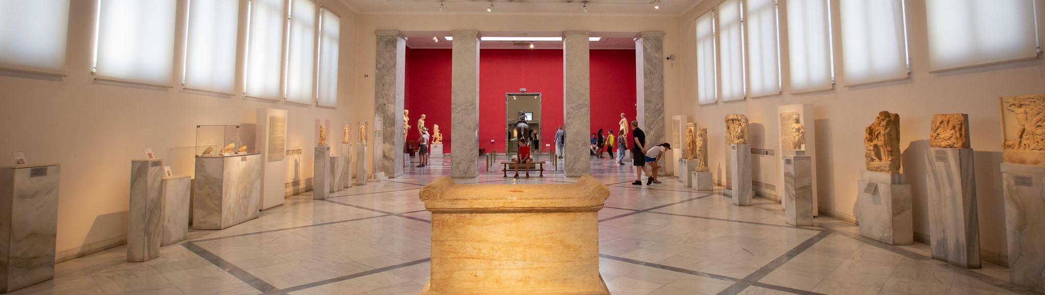 Национальный археологический музей в Афинах