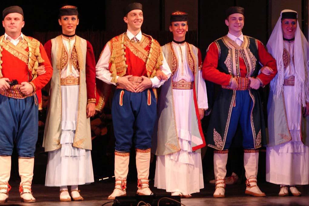 Национальный костюм черногорцев