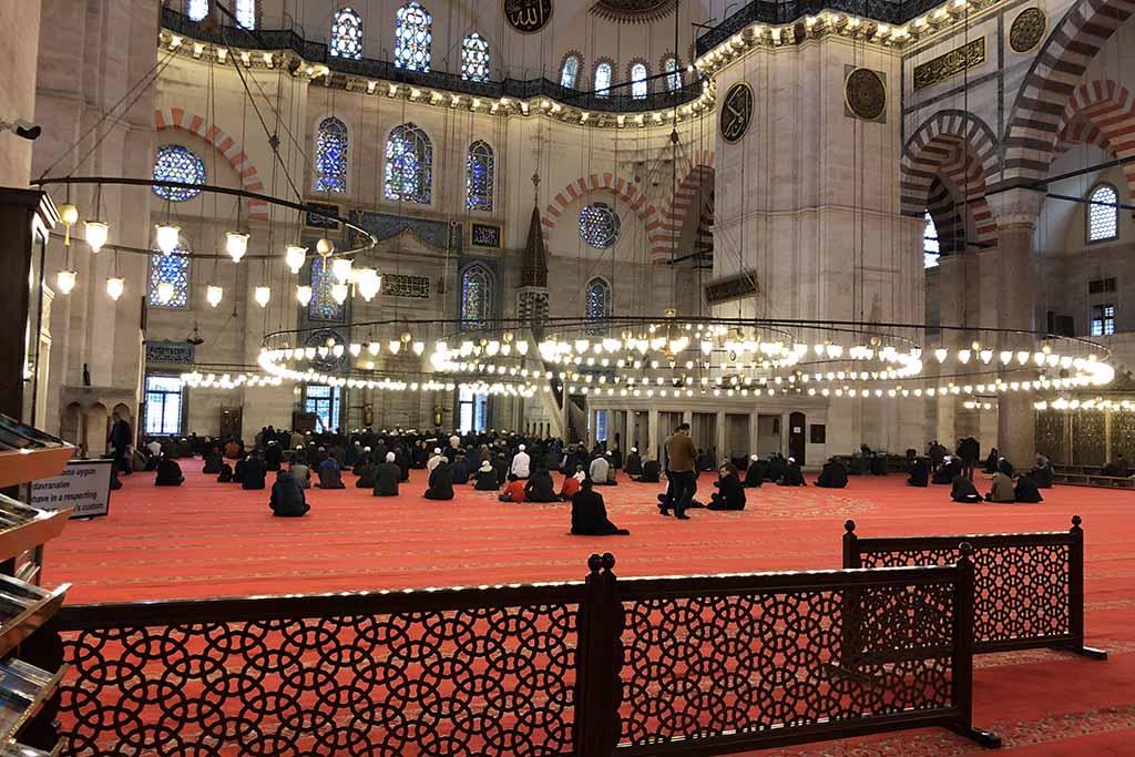 Когда посетить мечеть Сулеймание, Стамбул