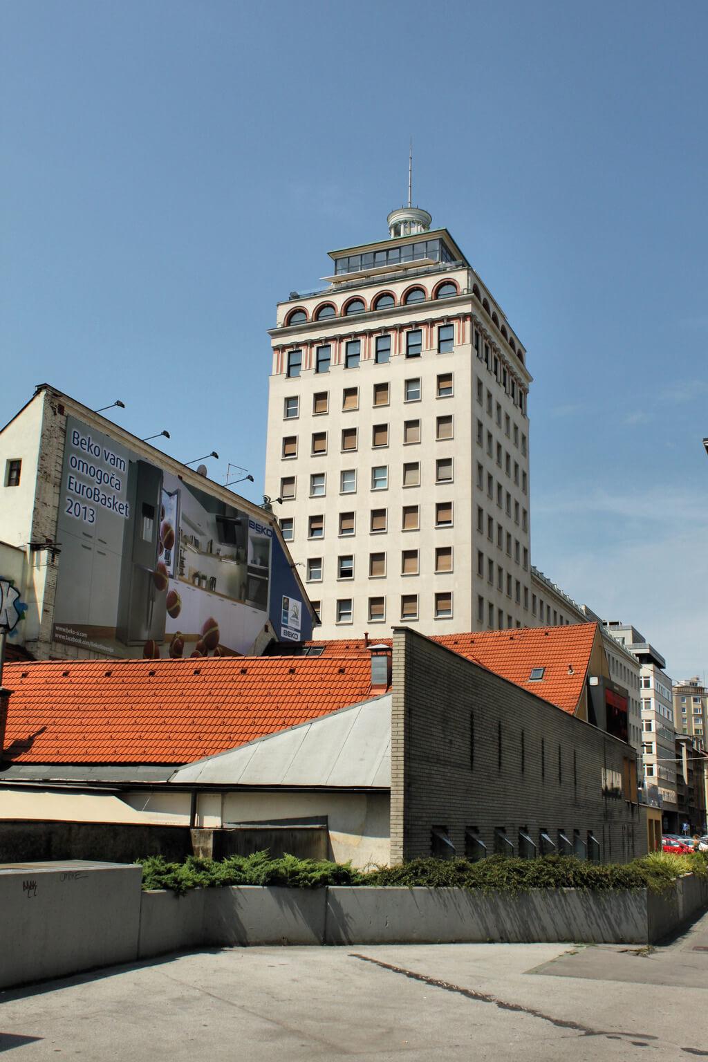 Первый небоскреб в Любляне — достопримечательность Любляны
