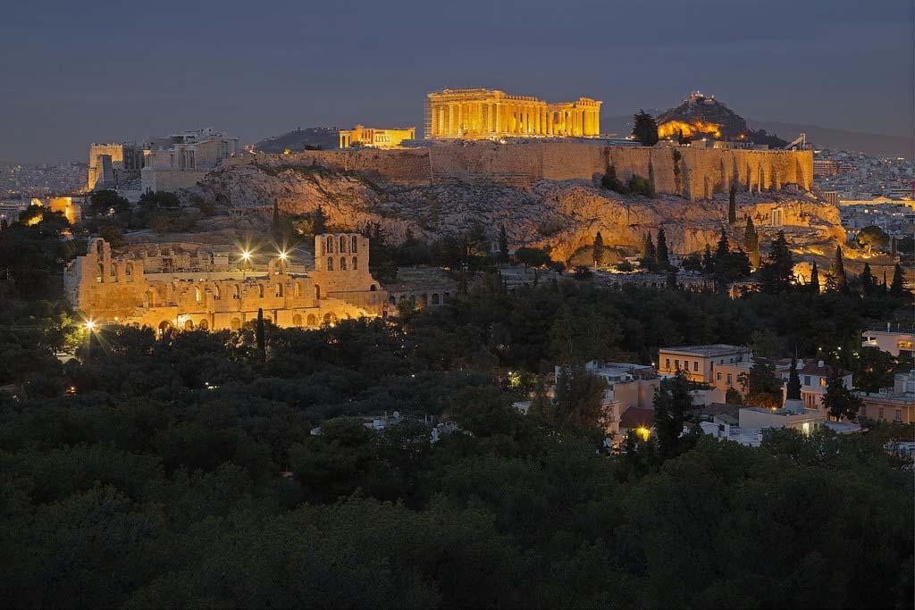 Когда посетить Акрополь, Афины