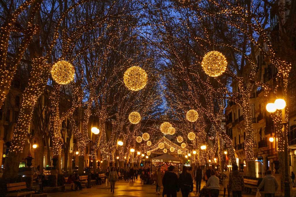Погода в Испании в декабре