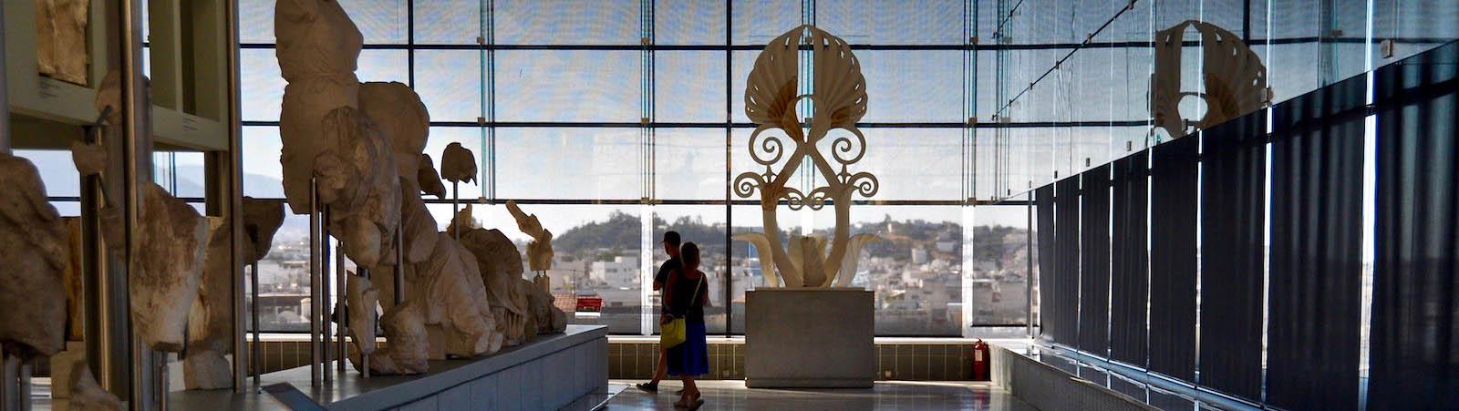 Новый музей Акрополя в Афинах