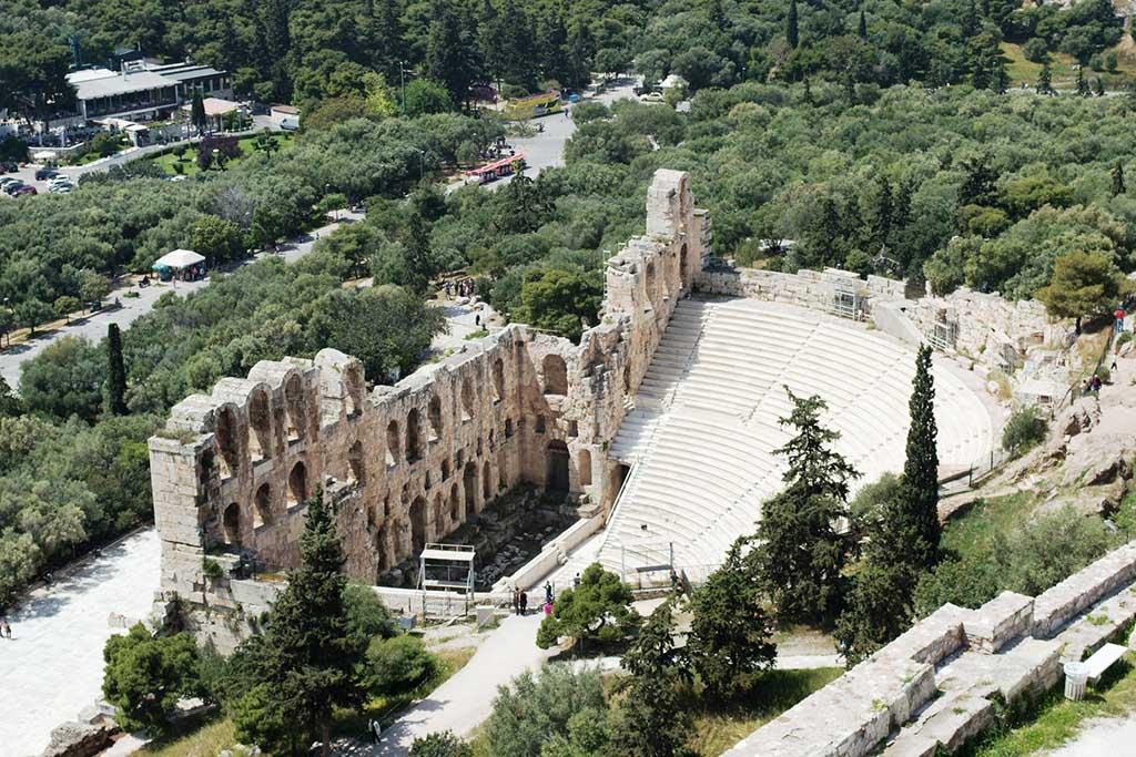 Одеон Герода Аттического. Афины, фото