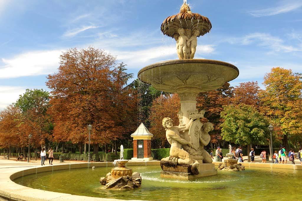 Погода в октябре в Мадриде