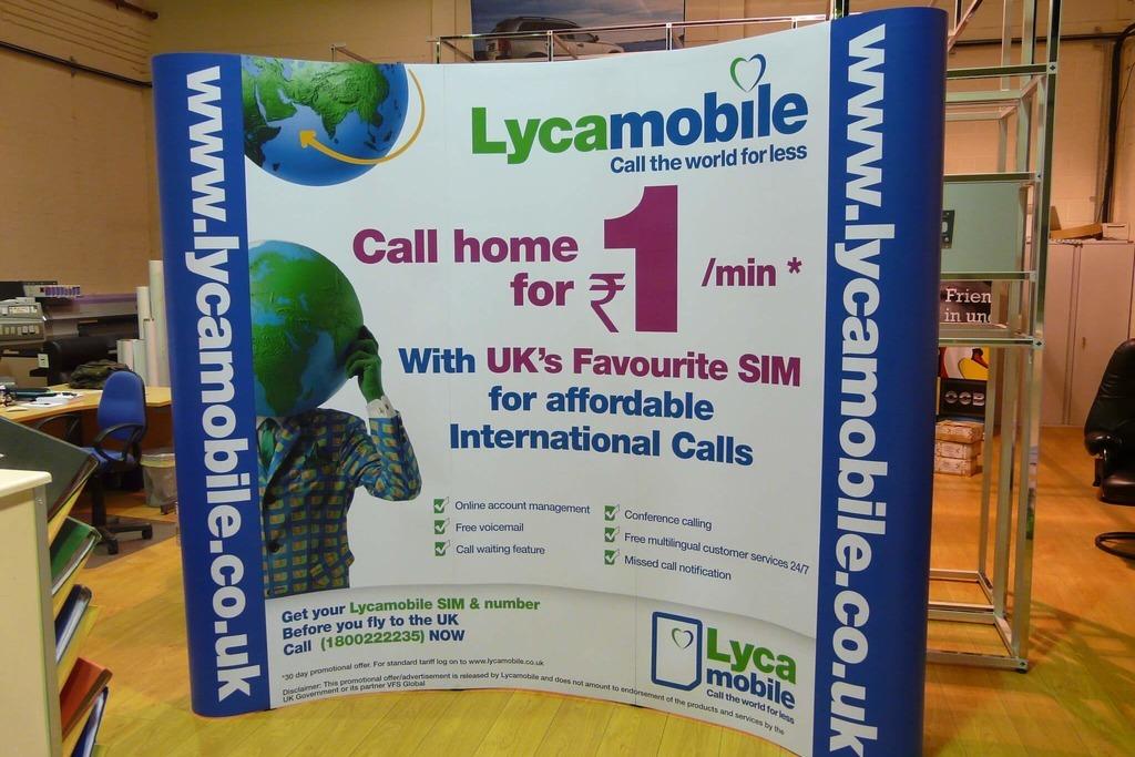 Мобильные операторы Испании — Lycamobile