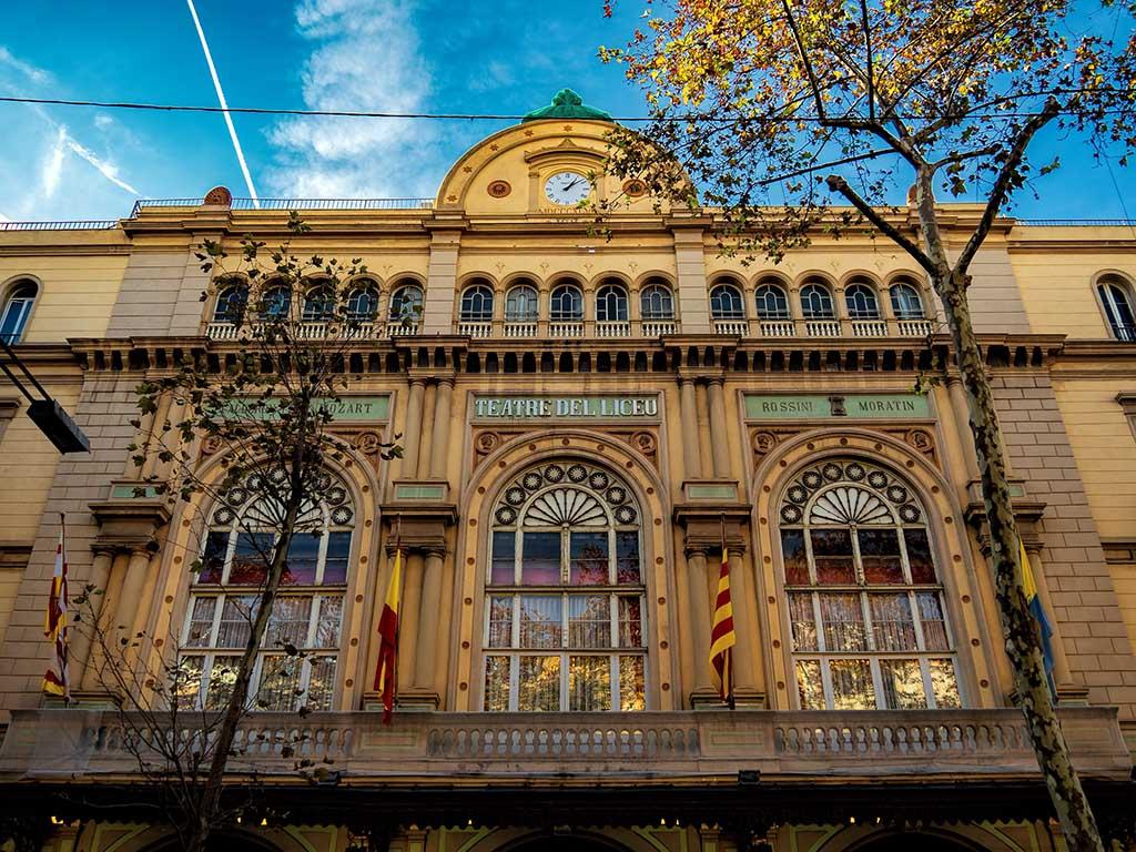 Гранд театр Лисеу — Барселона