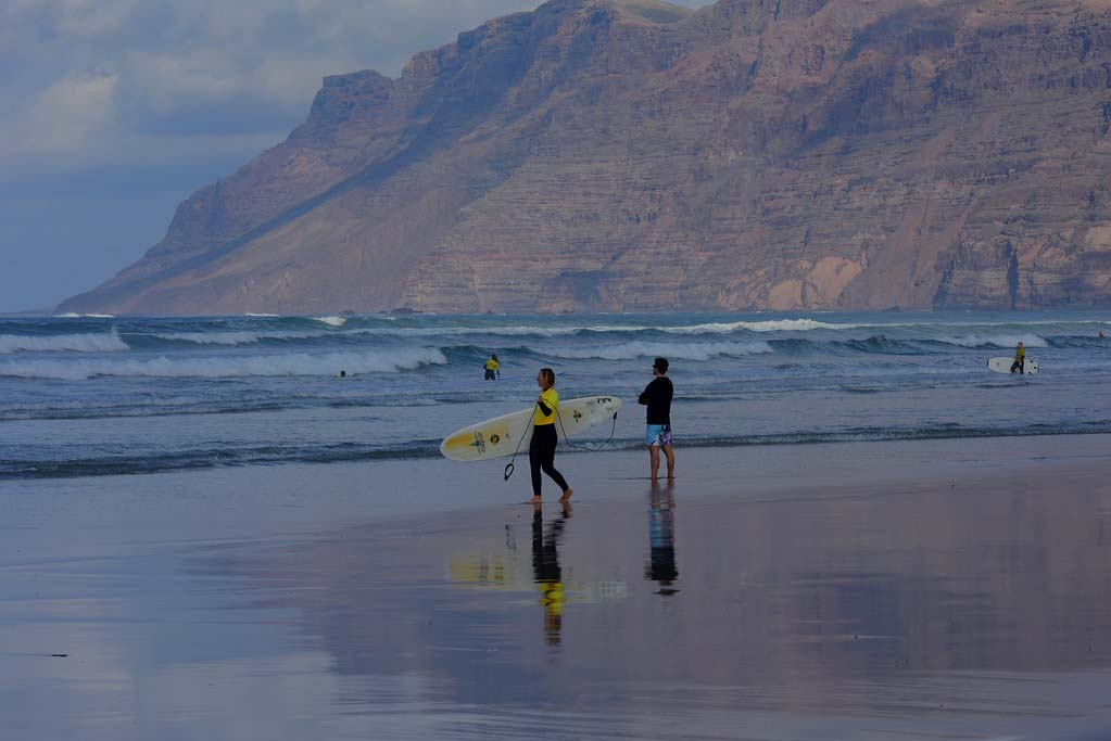 Серфинг в Испании