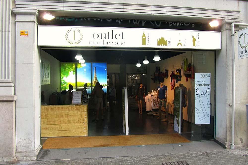 Скидки в Барселоне на одежду