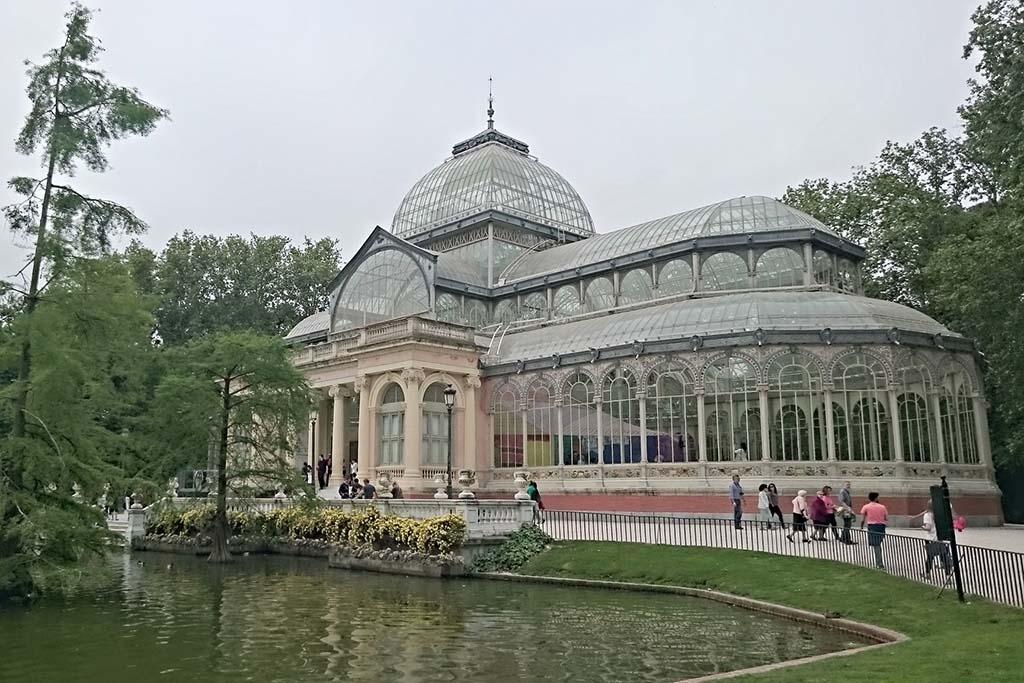 Достопримечательность в Мадриде — Хрустальный дворец