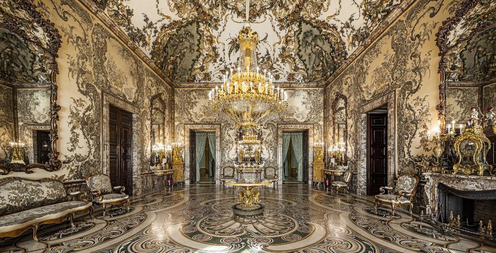 Какие есть залы во дворце в Мадриде