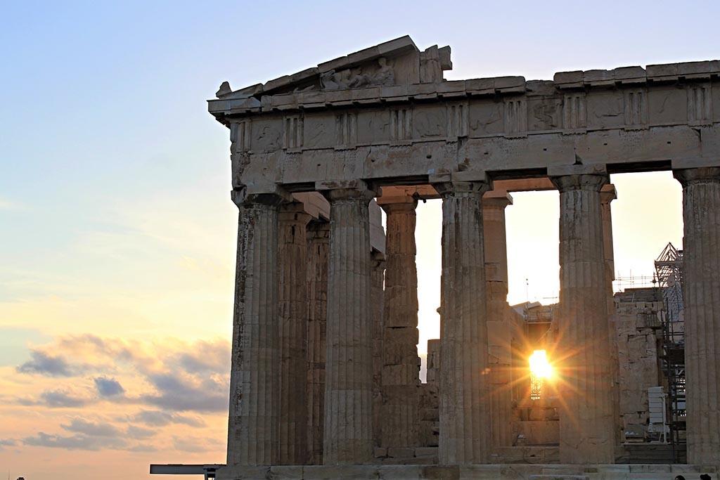 Когда лучше посетить Панфенон в Афинах