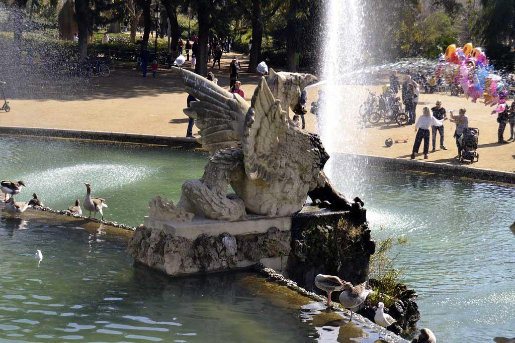 Городской парк в Барселоне — Цитадель