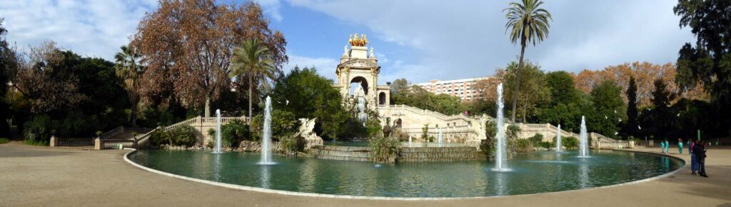 Парк de la Ciutadella в Барселоне