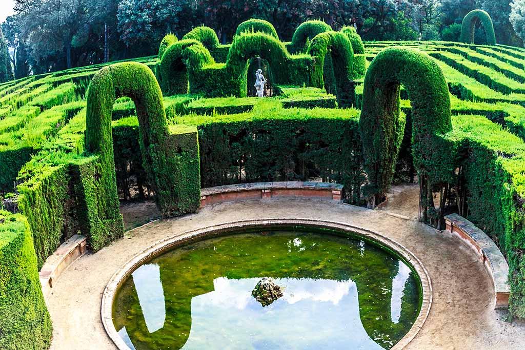 Зеленый район Орта-Гинардо — Барселона