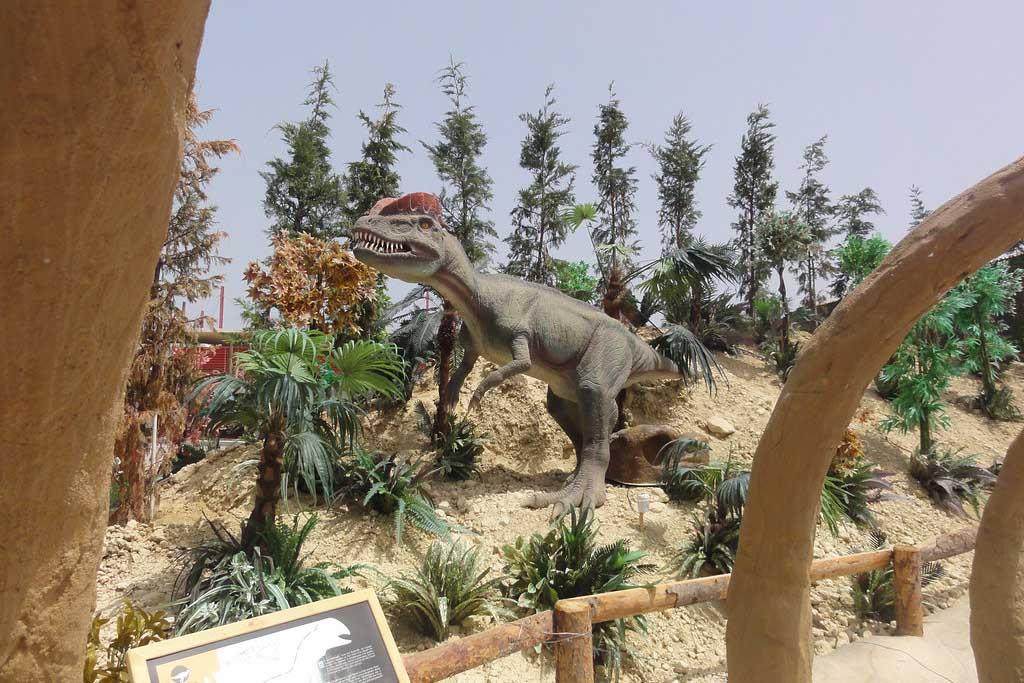 Одтых с детьми в Греции — Парк динозавров на острове Крит