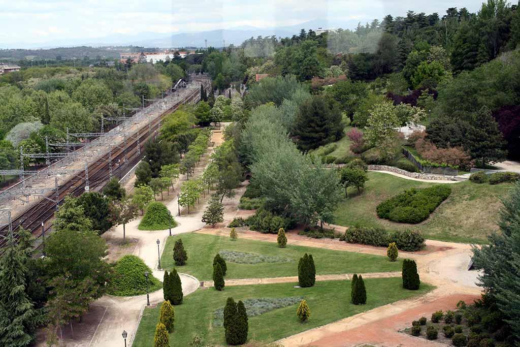 Парк Каса де Кампо в Мадриде