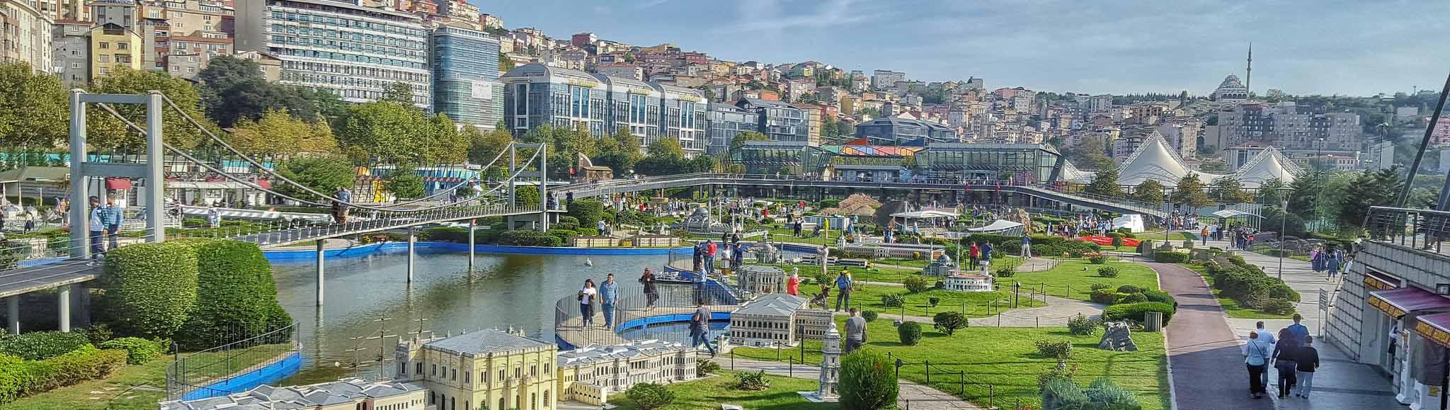 Парк миниатюр в Стамбуле, Турция