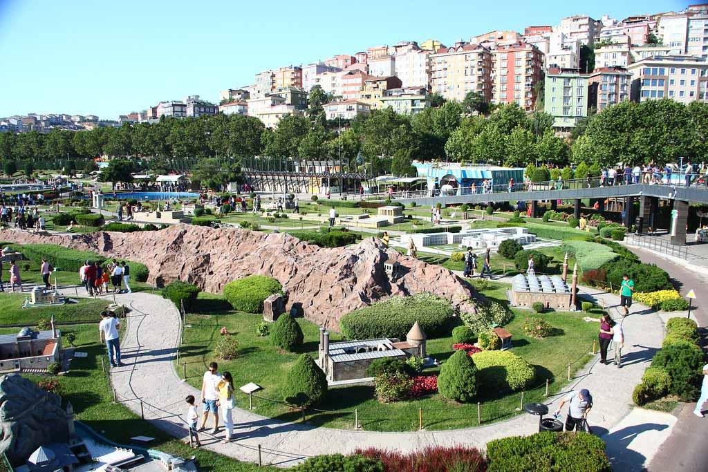 Парк Миниатюрк — достопримечательность Стамбула