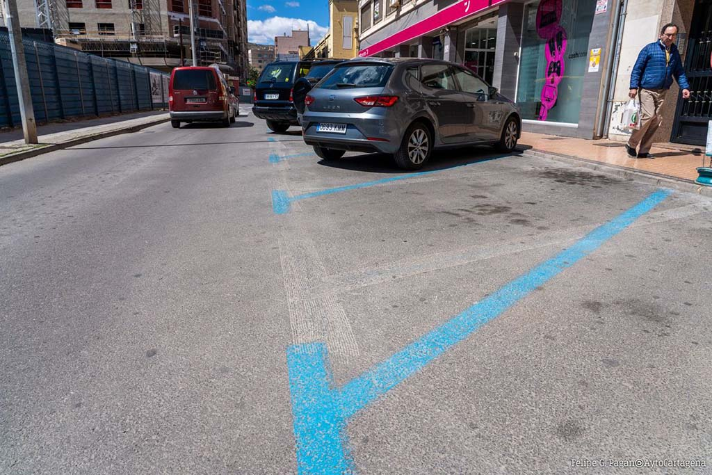 Парковки в Испании — зоны парковок в Испании