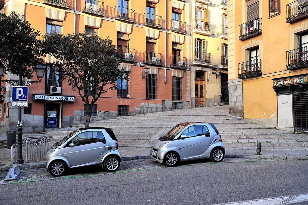 Парковки Испании