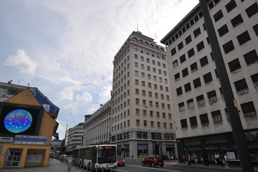 История небоскреба в Любляне Словения