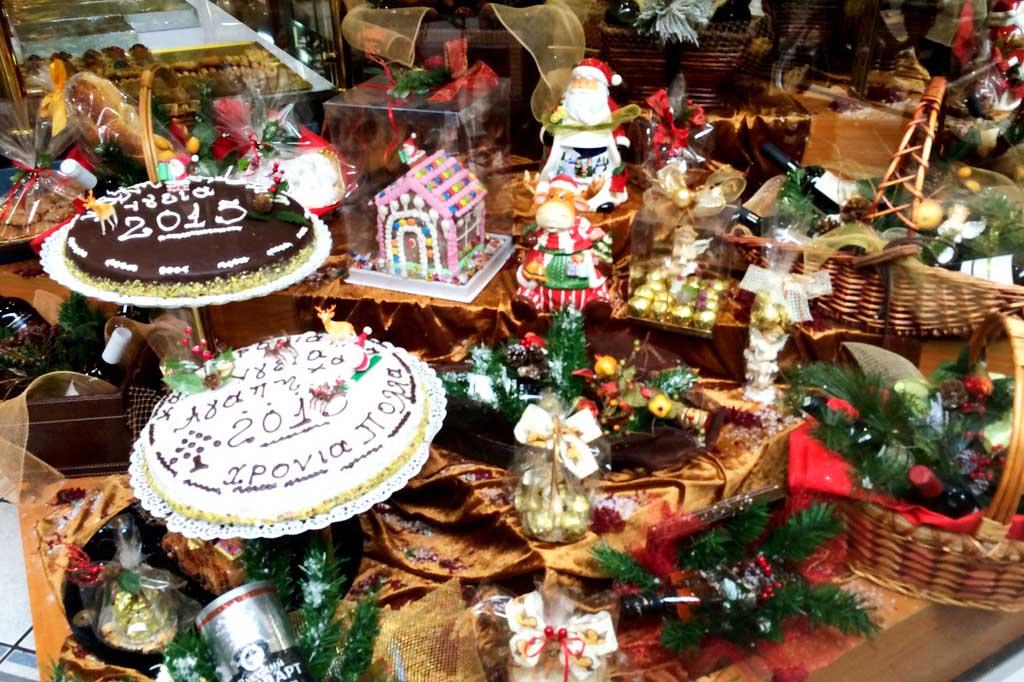 Новогодние блюда в Греции