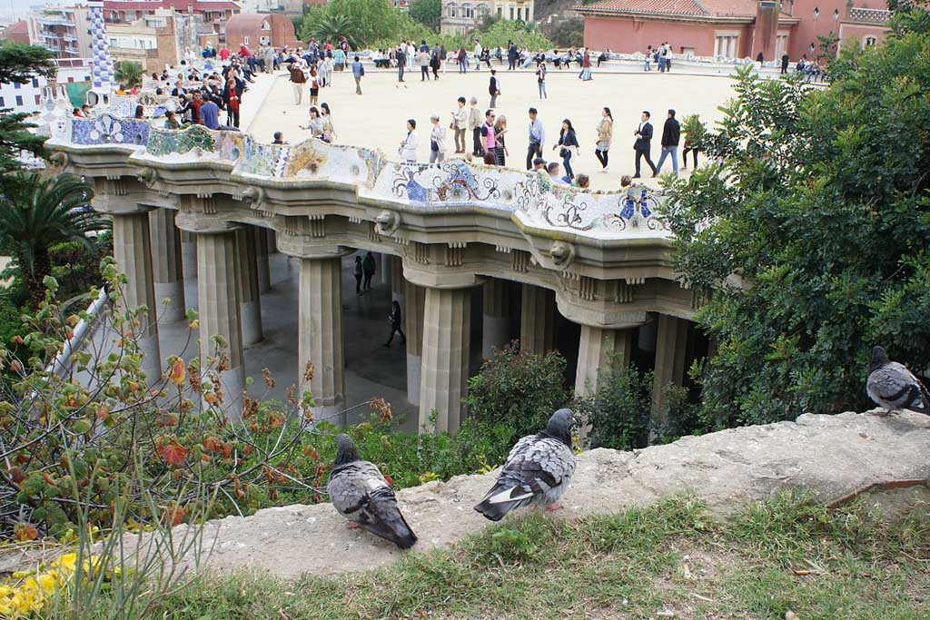 Экскурсия в парк Гуэль, Барселона