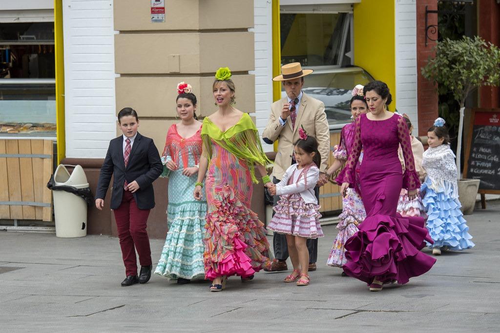 Национальная одежда в Испании