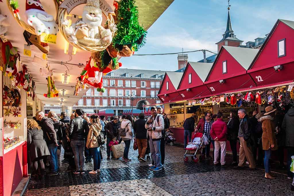 Мадрид: центральная площадь Пласа-Майор