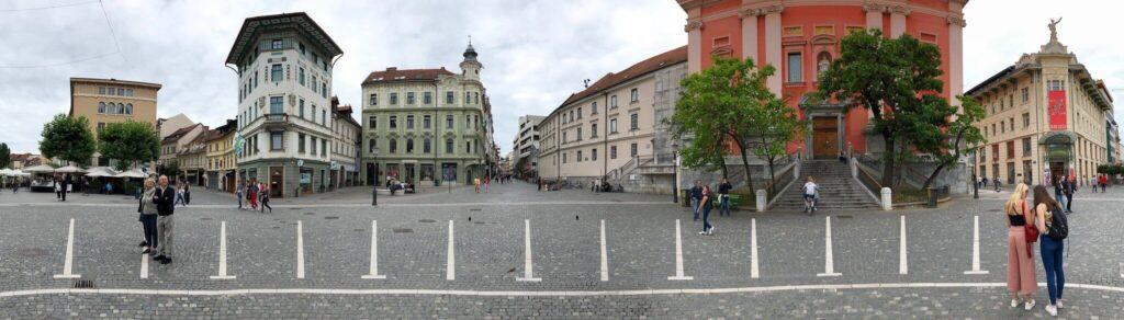 Любляна — площадь Прешерна