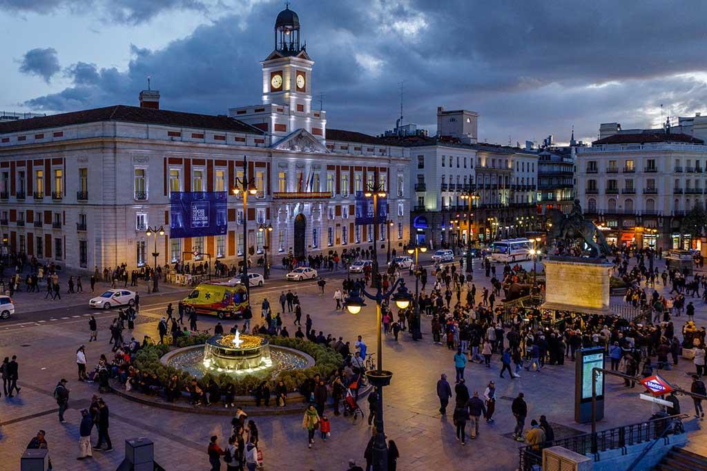 Пуэрта-дель-Соль, Мадрид