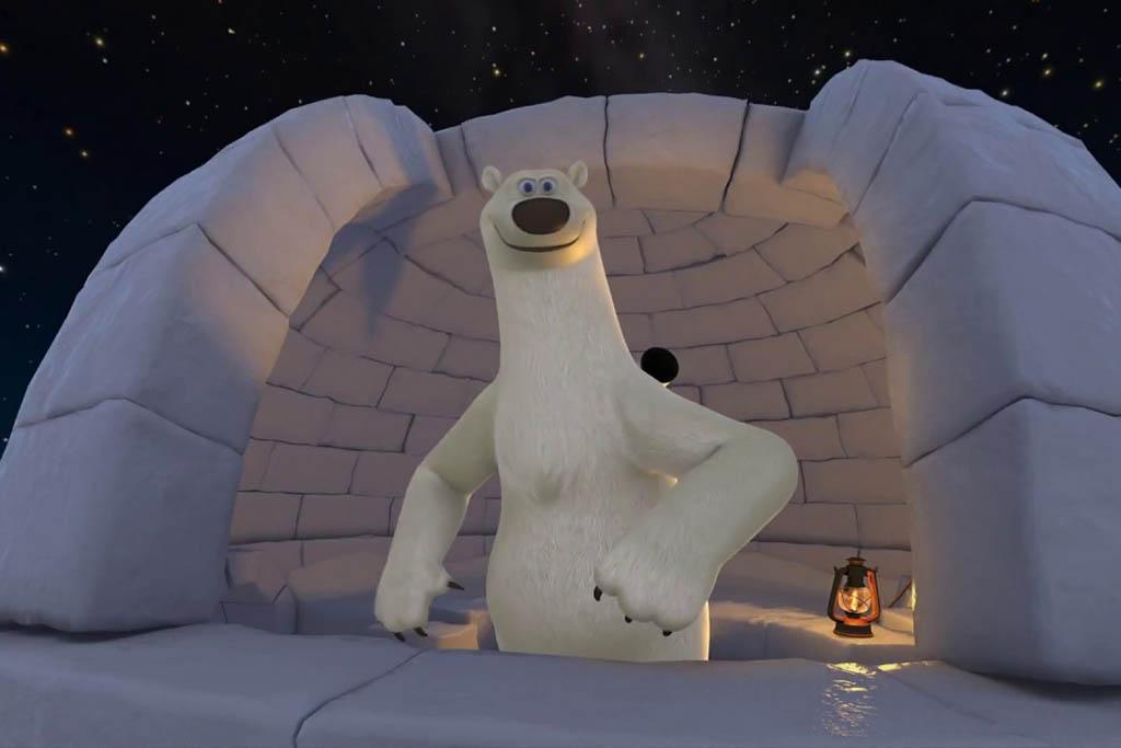 Детский представления в Мадридском планетарии