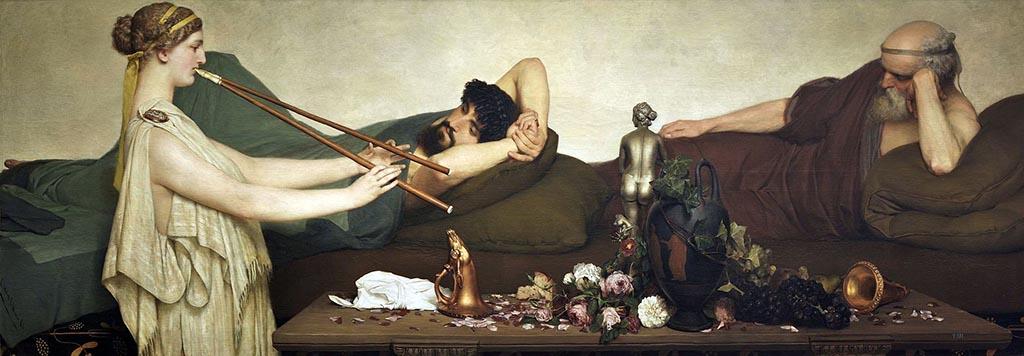 Музей Прадо — картина Помпейская сцена Лоуренса