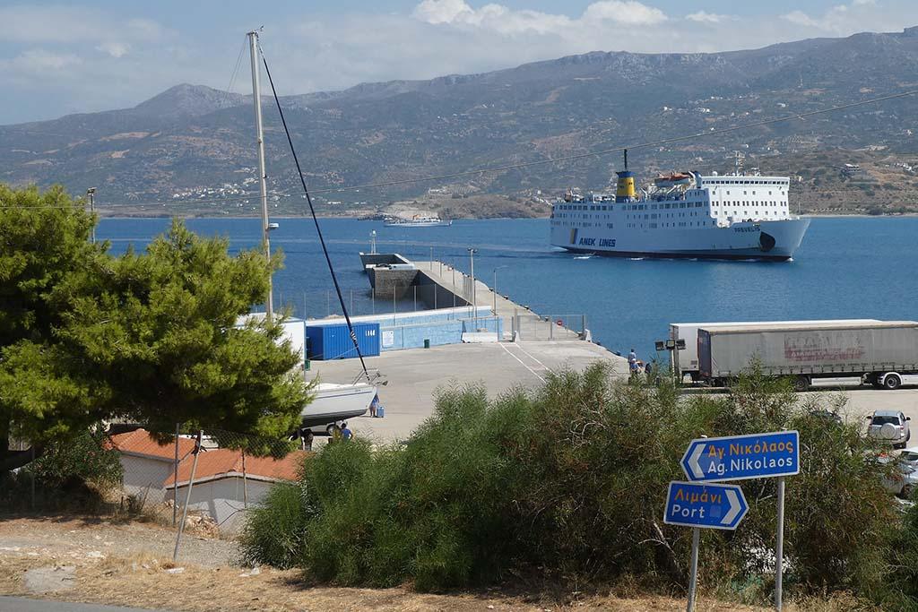 Паромы Крита