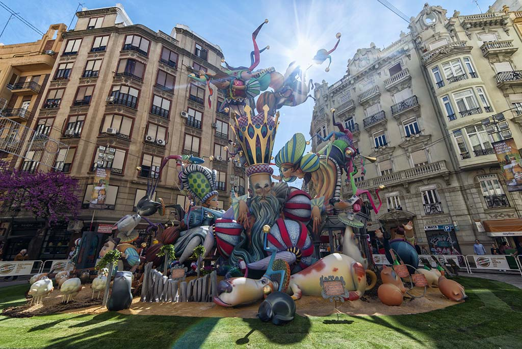 Las Fallas нематериальное культурное наследие Испании