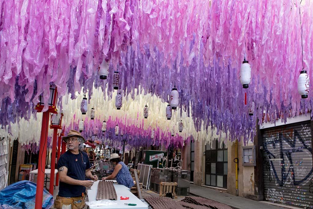 Праздники летом в Испании