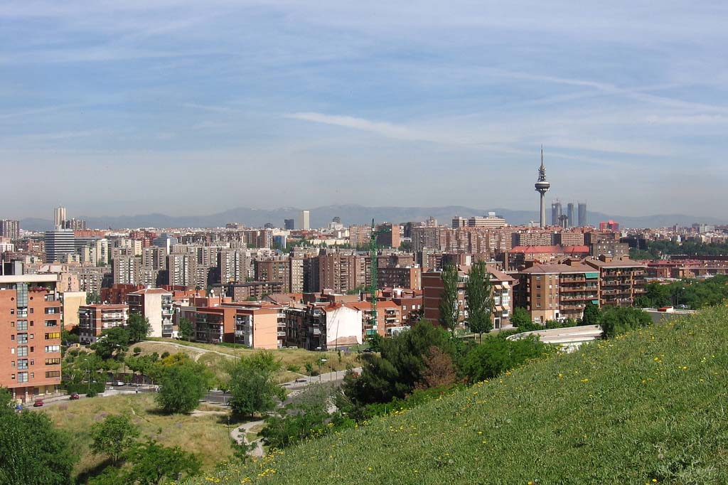 Районы Мадрида