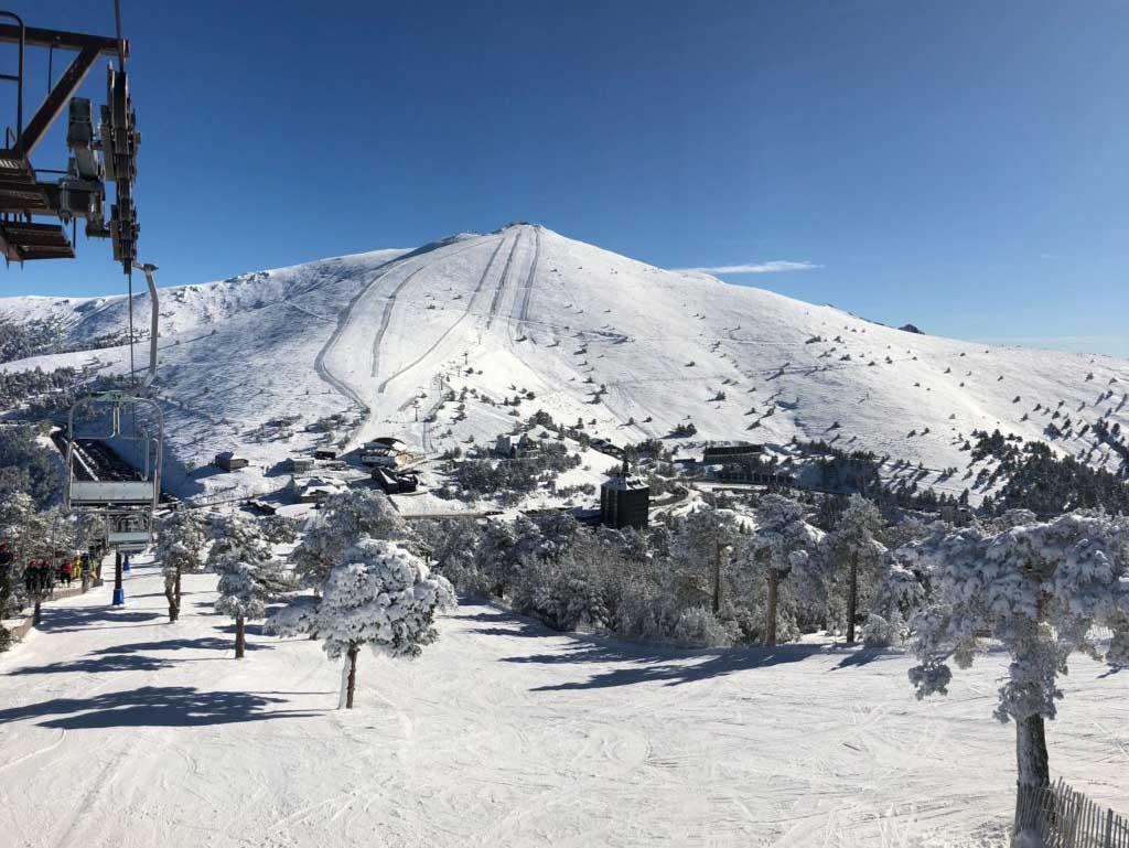 Как провести отдых в Серседилья — Лыжная трасса Пуэрто де Навасеррада