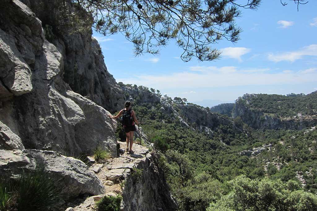 Пеший маршрут по горам Трамунтана, Пальма де Майорка