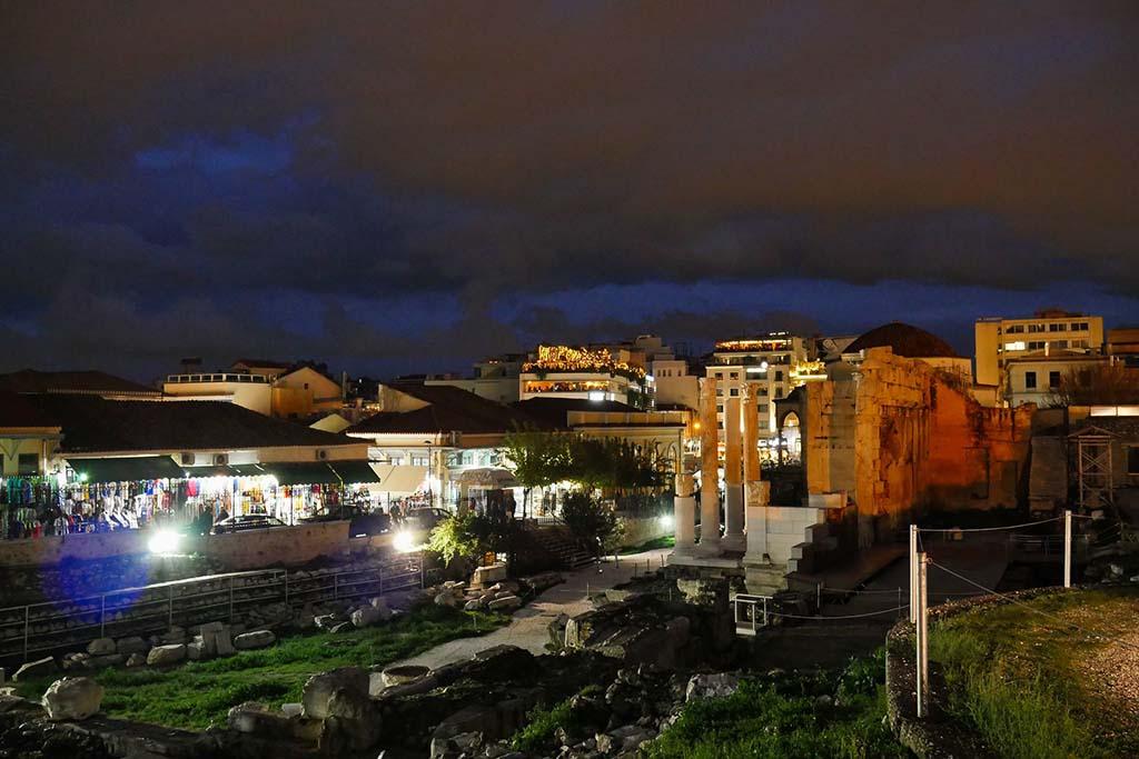 Районы Афин — Монастираки