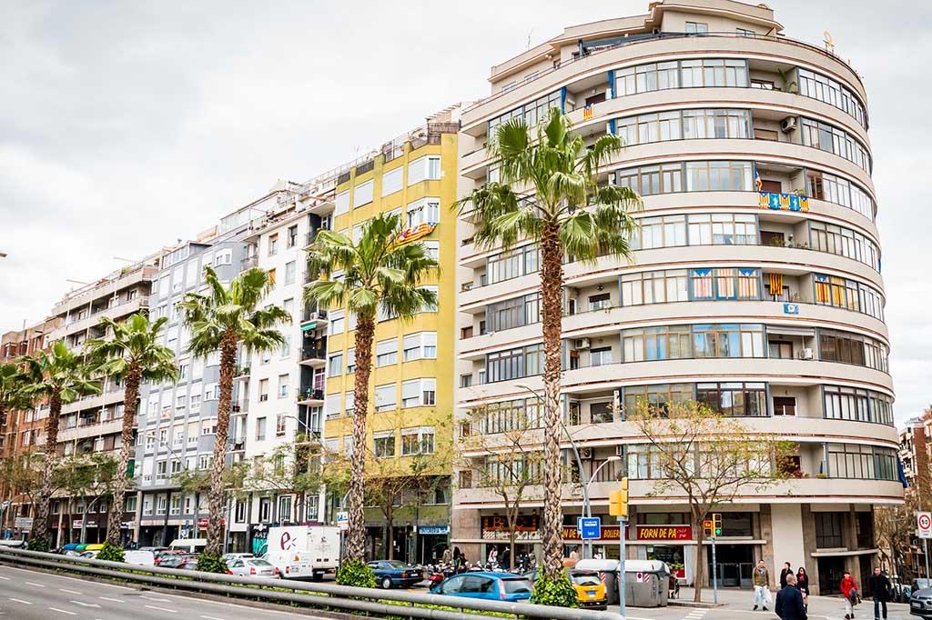 Район парков Орта-Гинардо, Барселона