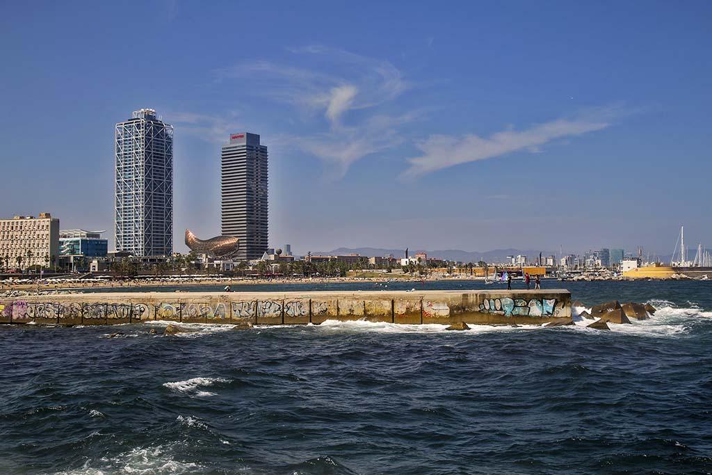 Пляжи района Сант Марти, Барселона